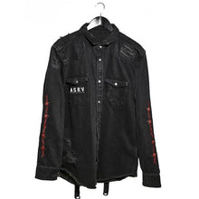 Load image into Gallery viewer, Mens Fashion Washed Denim Jacket
