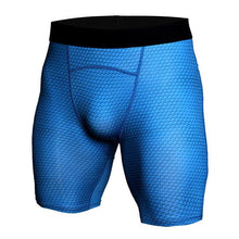 Load image into Gallery viewer, Snake   Shorts Men's Sports Tights Fitness Running Elastic Fish Scales Quick Dry   Pants