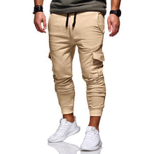 Load image into Gallery viewer, Men's Fashion Tether Elastic Multi-Pocket Pants