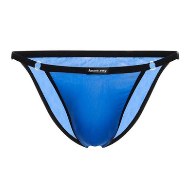 Icy ultra-thin ice silk semi-perspective men's briefs