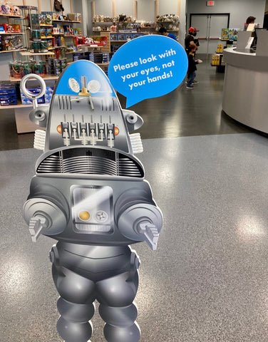 Robby the Robot store sign