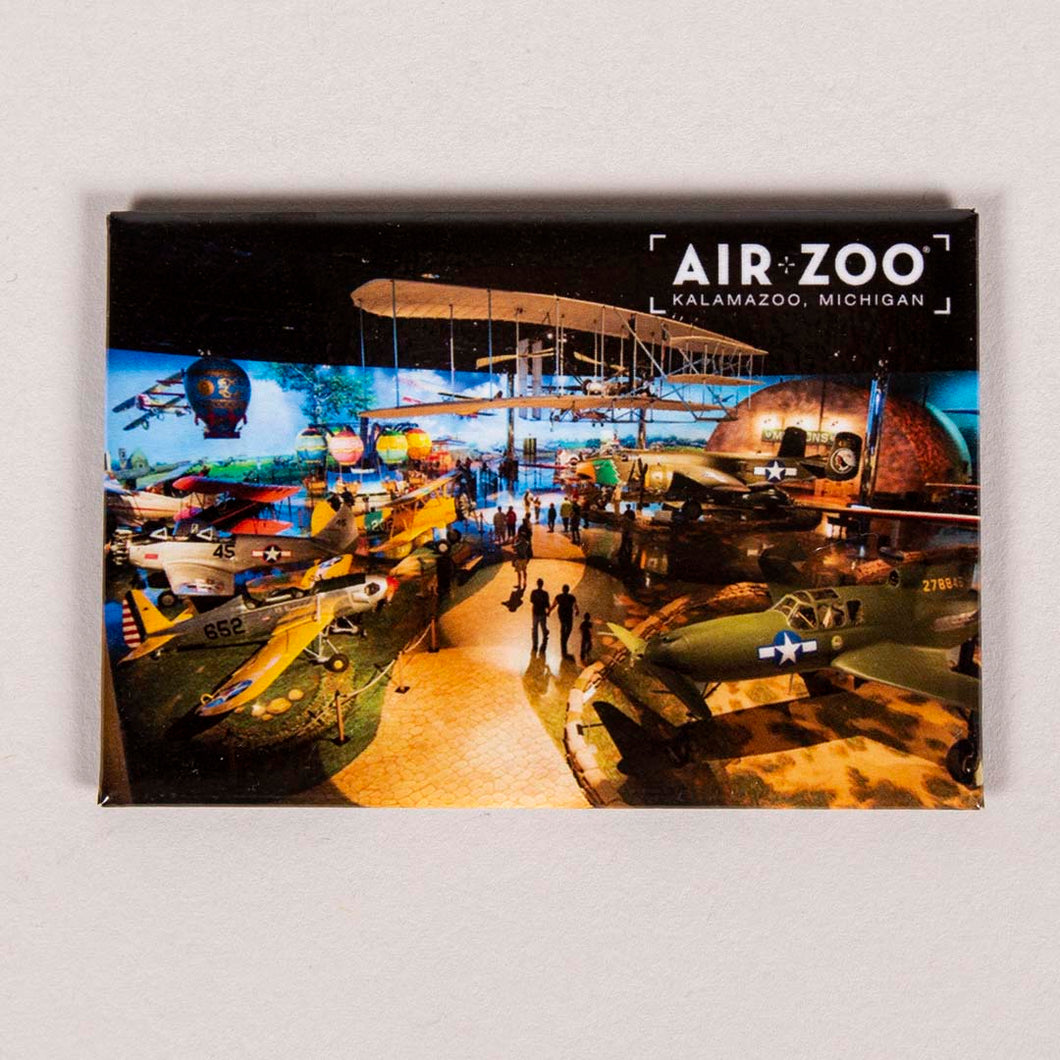 Air Zoo Exhibit Floor Magnet
