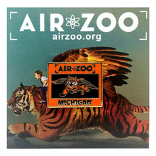 Load image into Gallery viewer, Air Zoo Flying Tiger Pin