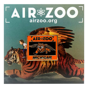 Air Zoo Flying Tiger Pin