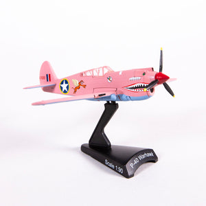 Air Zoo Pink P-40 Warhawk Collectible