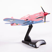 Load image into Gallery viewer, Air Zoo Pink P-40 Warhawk Collectible