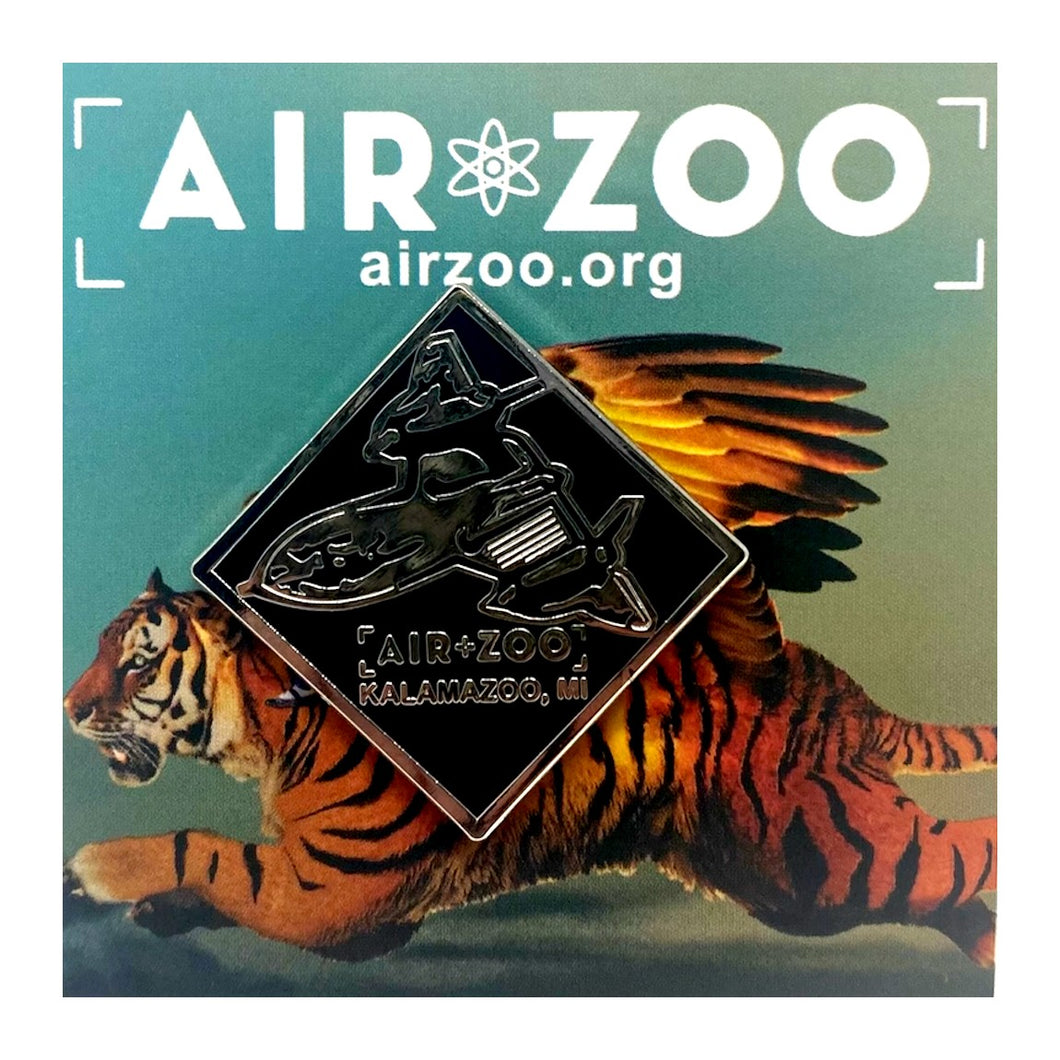 Air Zoo SR-71 Pin