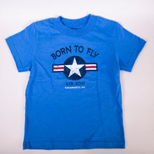 "Load image into Gallery viewer, ""Born To Fly"" Toddler T-shirt"