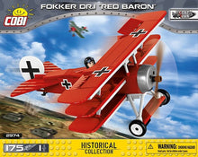 Load image into Gallery viewer, Cobi Fokker DR.1 Red Baron
