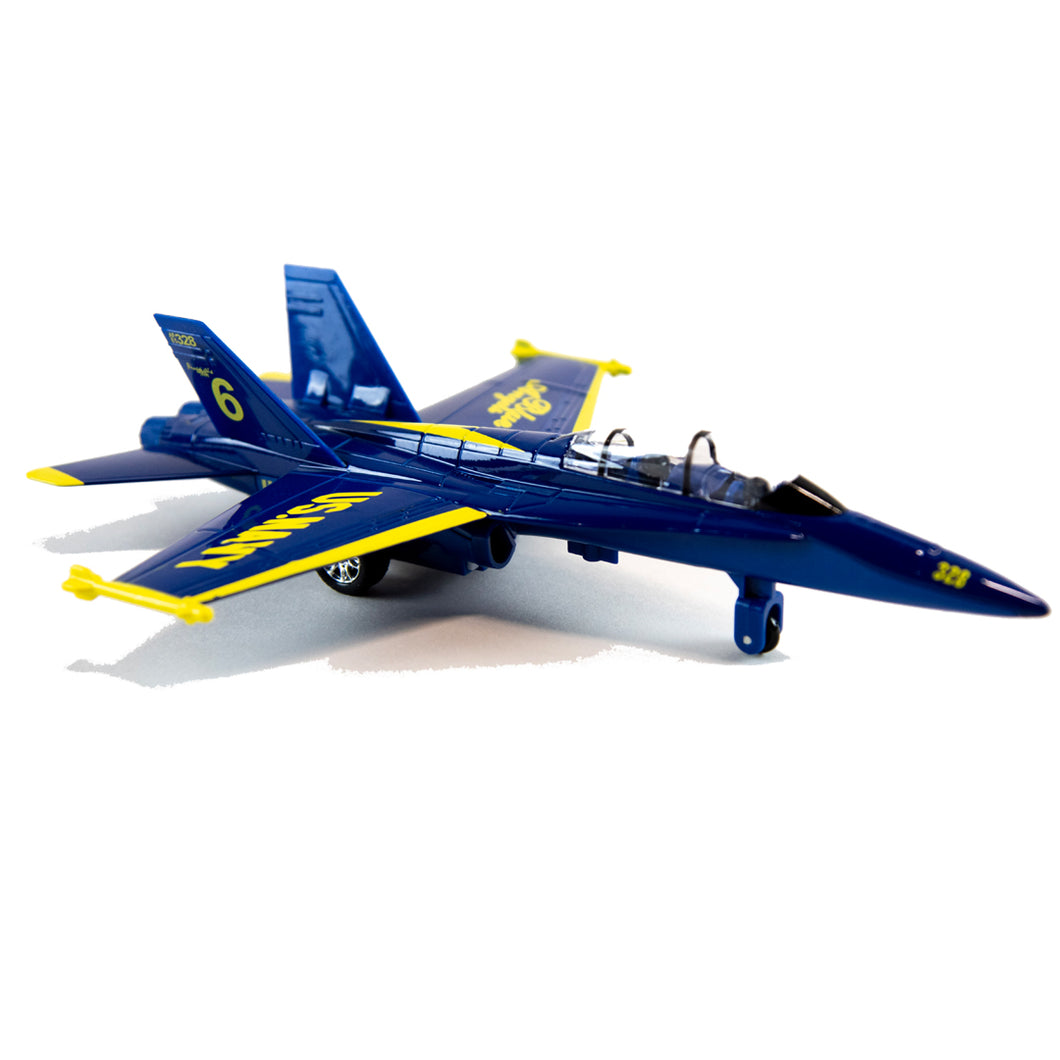 F/A-18 Blue Angel Pullback