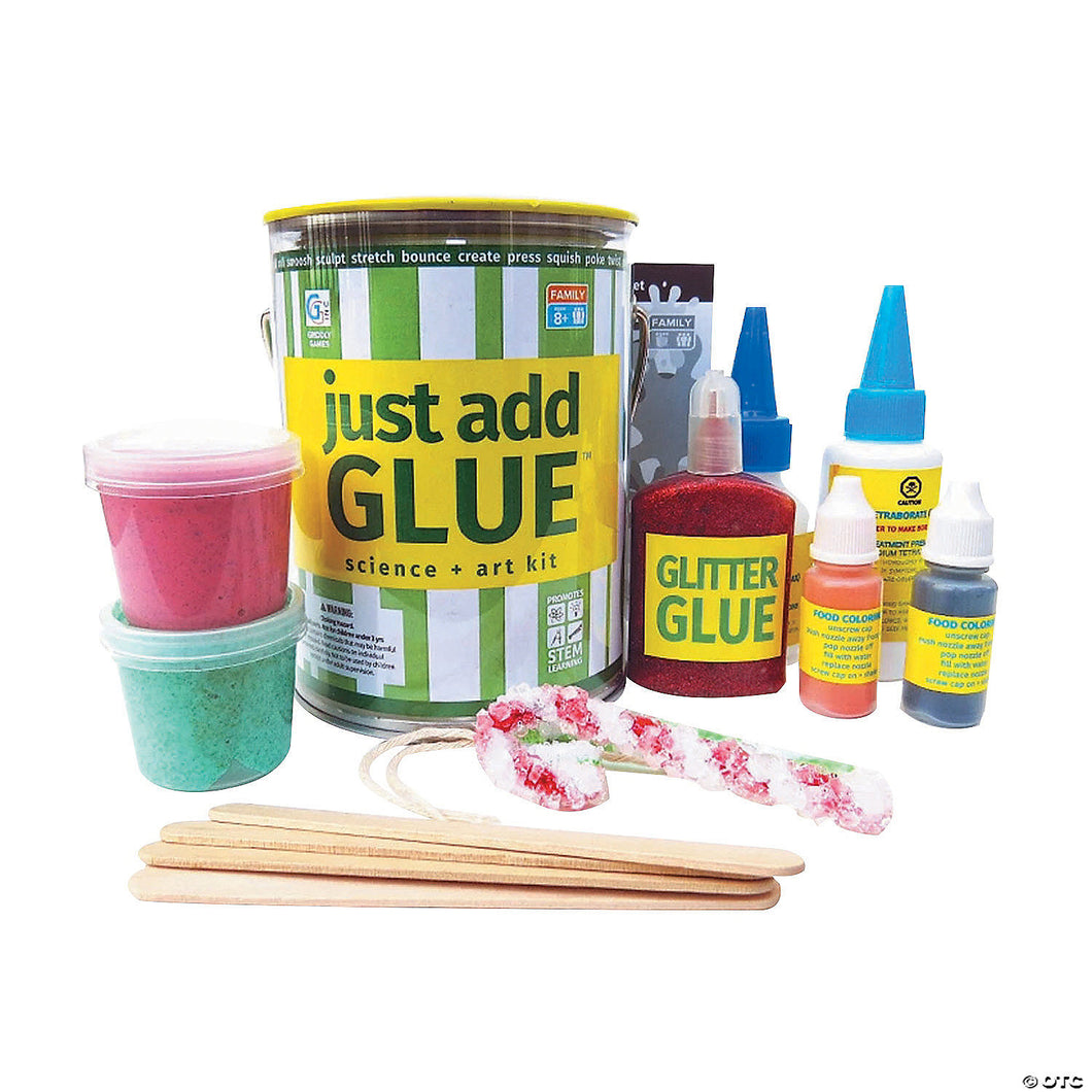 Just Add Glue - Science & Art Kit