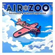 Load image into Gallery viewer, Lapel Pin Pink P-40