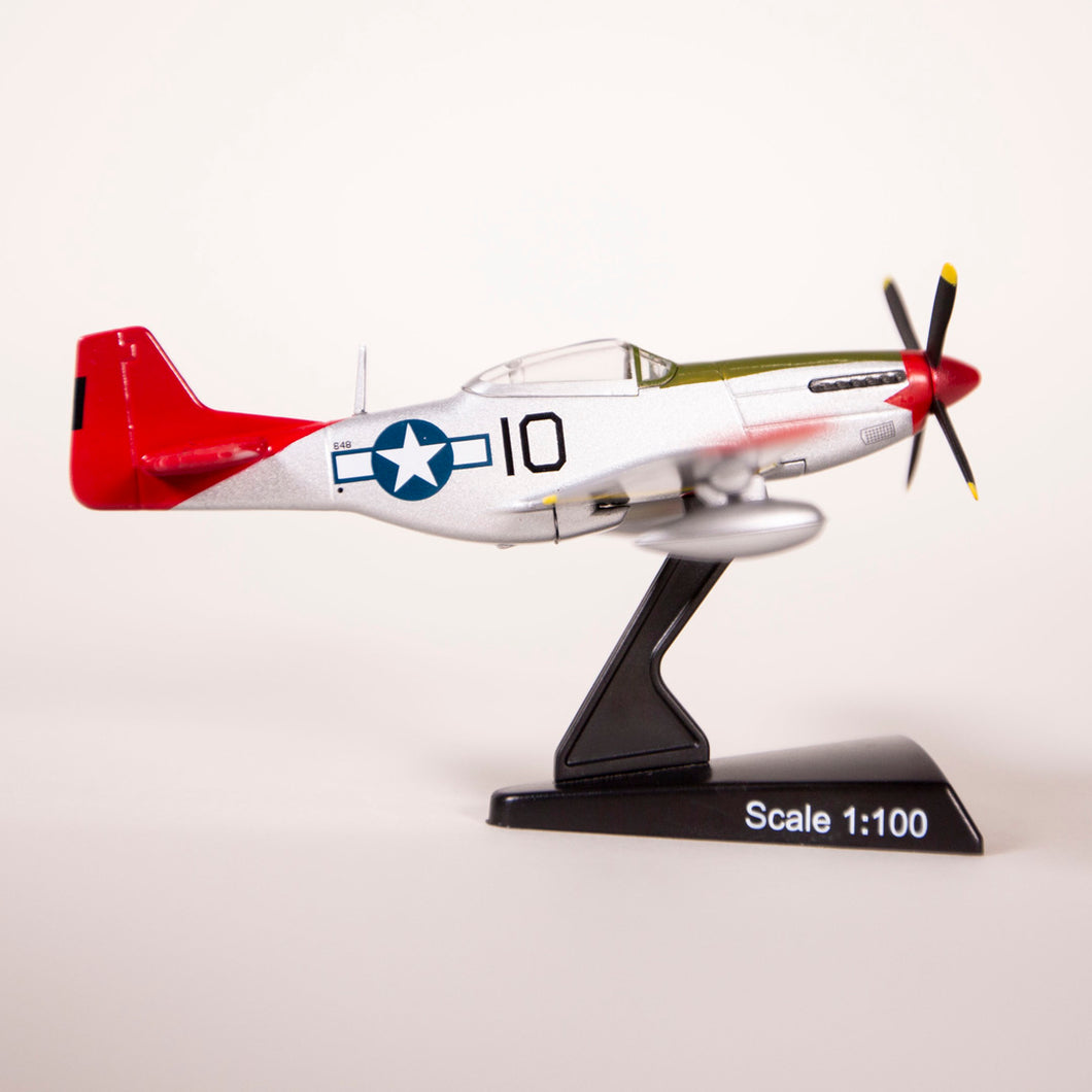 P-51 Tuskegee Mustang Diecast Collectible