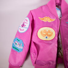 Load image into Gallery viewer, Pink Bomber Jacket