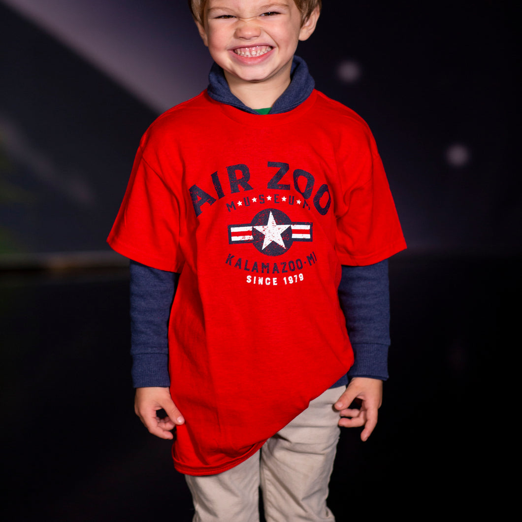 Youth Red Air Zoo T-shirt