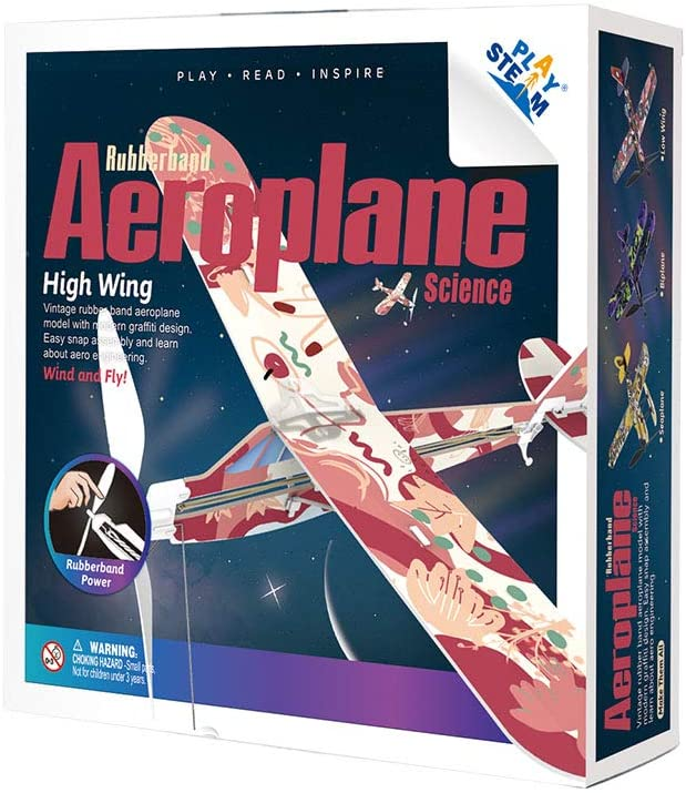 Rubberband Aeroplane Science