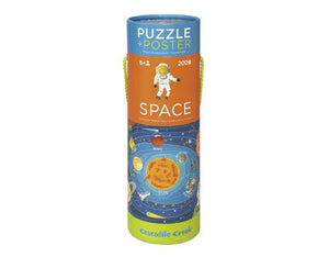 Space Puzzle + Poster