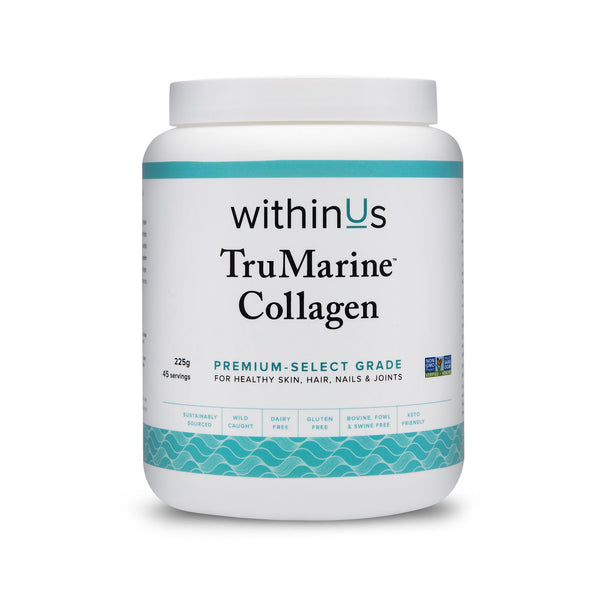 withinUs TruMarine Collagen Serving Jar - INVU Skin | Regina, SK