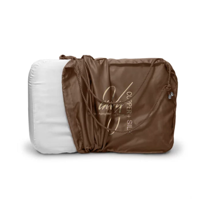 Envy Copper & Silk Pillow - INVU Skin | Regina, SK