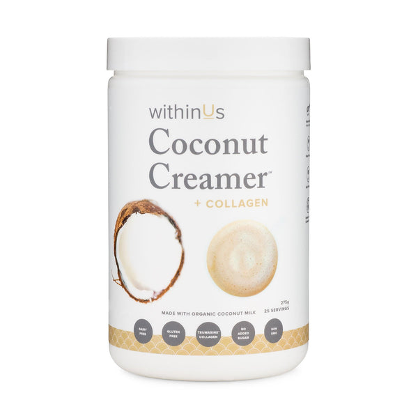 withinUs Coconut Creamer + TruMarine™ Collagen - INVU Skin | Regina, SK