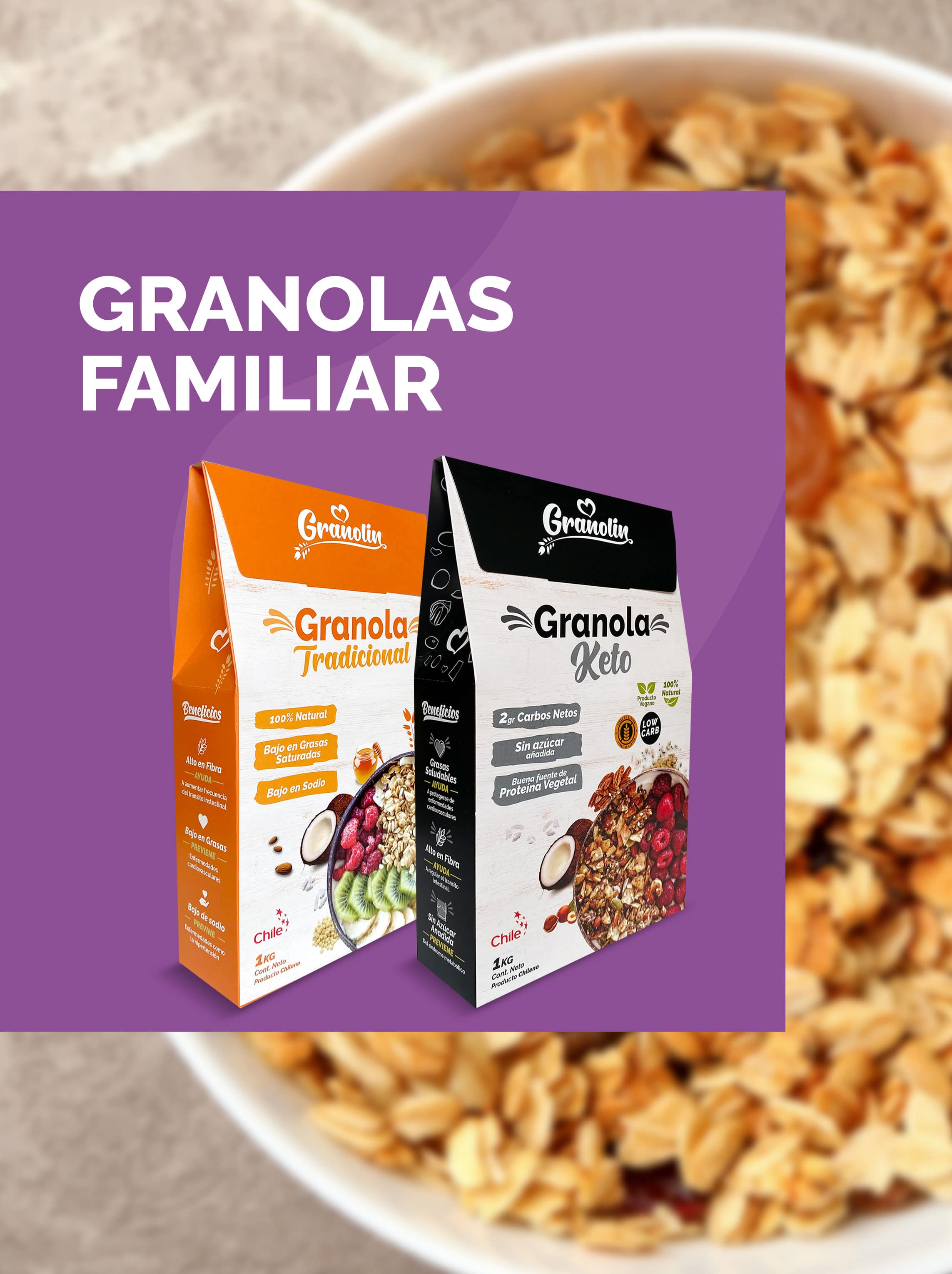 Granolas Familiar 1Kg