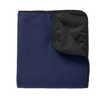 Load image into Gallery viewer, Port Authority® Fleece & Poly Travel Blanket