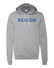 Load image into Gallery viewer, Bella + Canvas - Unisex Hooded Pullover Sweatshirt w/ Block Font (YOUTH)