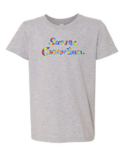 Load image into Gallery viewer, Bella+Canvas - Youth Premium Short Sleeve T-Shirt (Sussex Consortium Script)