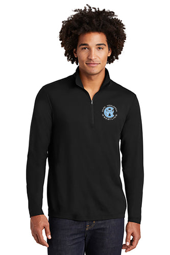 Sport-Tek ® Mens PosiCharge ® Tri-Blend Wicking 1/4-Zip Pullover