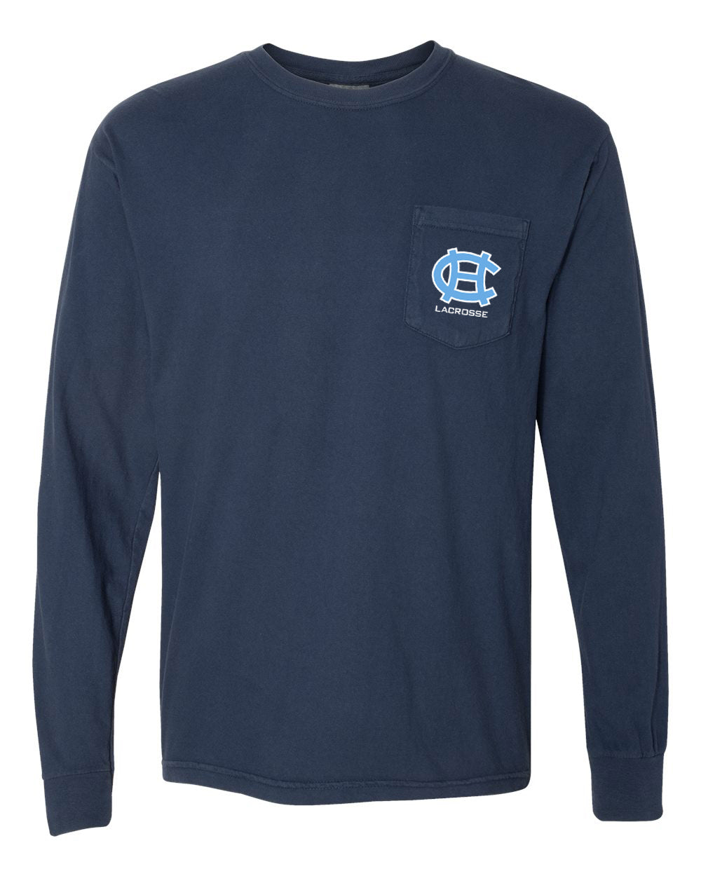 Comfort Colors - Garment-Dyed Heavyweight Pocket Long Sleeve T-Shirt (ADULT)