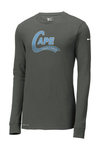 Nike - Dri-FIT Cotton/Poly Long Sleeve T-Shirt (ADULT)