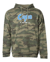 Load image into Gallery viewer, Camo Hooded Pullover Sweatshirt (ADULT)