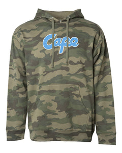 Camo Hooded Pullover Sweatshirt (ADULT)