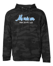 Load image into Gallery viewer, Black Camouflage Hooded Pullover Sweatshirt (ADULT)