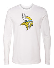 Load image into Gallery viewer, Next Level - Premium Fitted Long Sleeve T-Shirt (Viking Head)