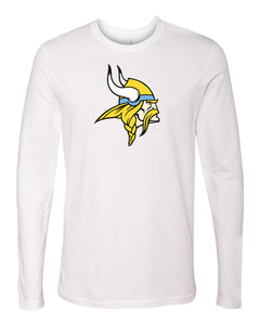 Next Level - Premium Fitted Long Sleeve T-Shirt (Viking Head)