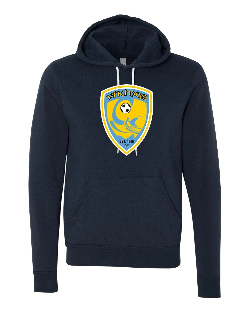 Bella+Canvas - Unisex Pullover Hooded Sweatshirt