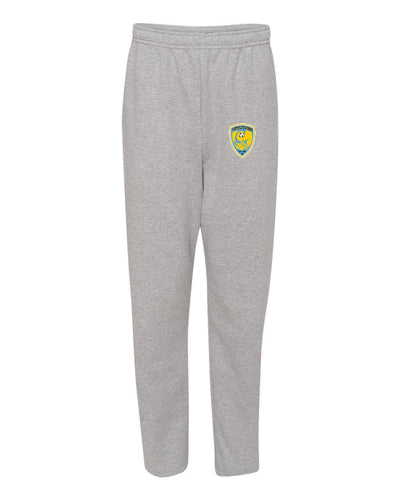 Jerzees NuBlend Open Bottom Sweatpants w/Soccer Seal (Mariner)