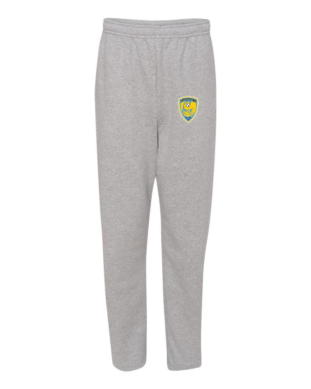 Jerzees NuBlend Open Bottom Sweatpants w/Soccer Seal