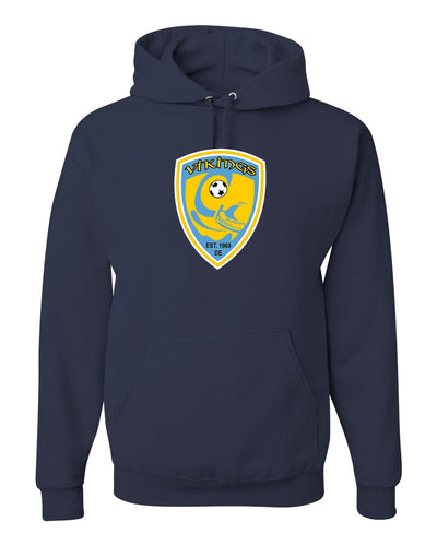 Jerzees NuBlend Hooded Sweatshirt w/o Name & Number (Mariner)