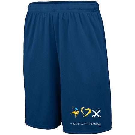 Vikings. Love. Field Hockey. Youth Performance Shorts