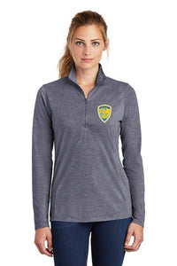 Sport-Tek ® Ladies PosiCharge ® Tri-Blend Wicking 1/4-Zip Pullover