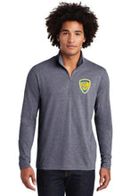 Load image into Gallery viewer, Sport-Tek ® Mens PosiCharge ® Tri-Blend Wicking 1/4-Zip Pullover