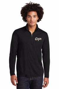 Sport-Tek ® Men's PosiCharge ® Tri-Blend Wicking 1/4-Zip Pullover (NEW!)