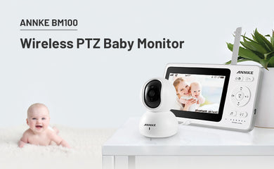 ANNKE Releases Most Hackproof BM100 Wireless PTZ Baby Monitor