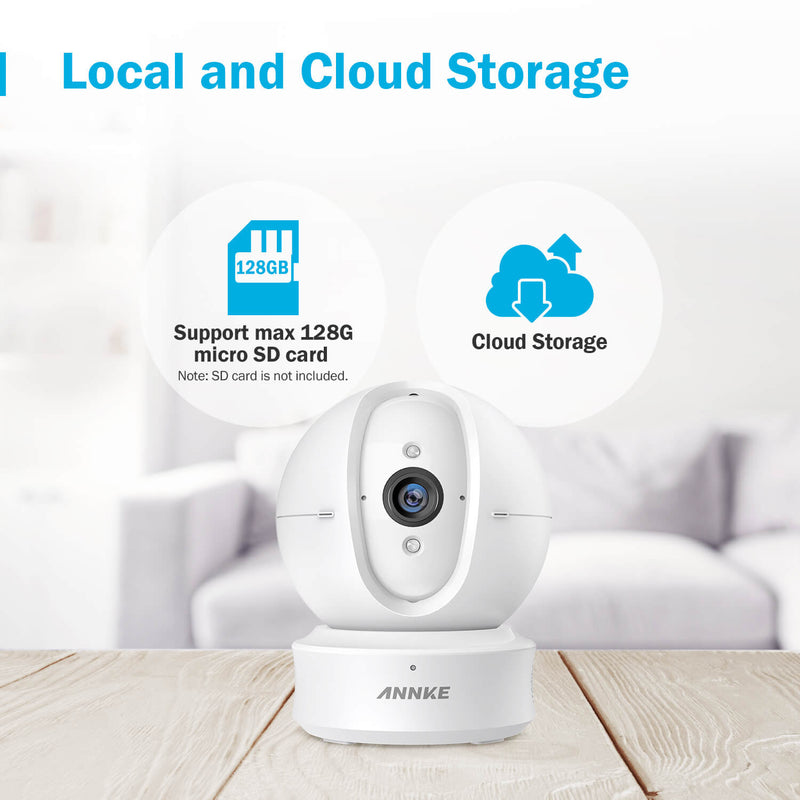 1080P HD Pan/Tilt Wi-Fi Wireless Security IP Camera