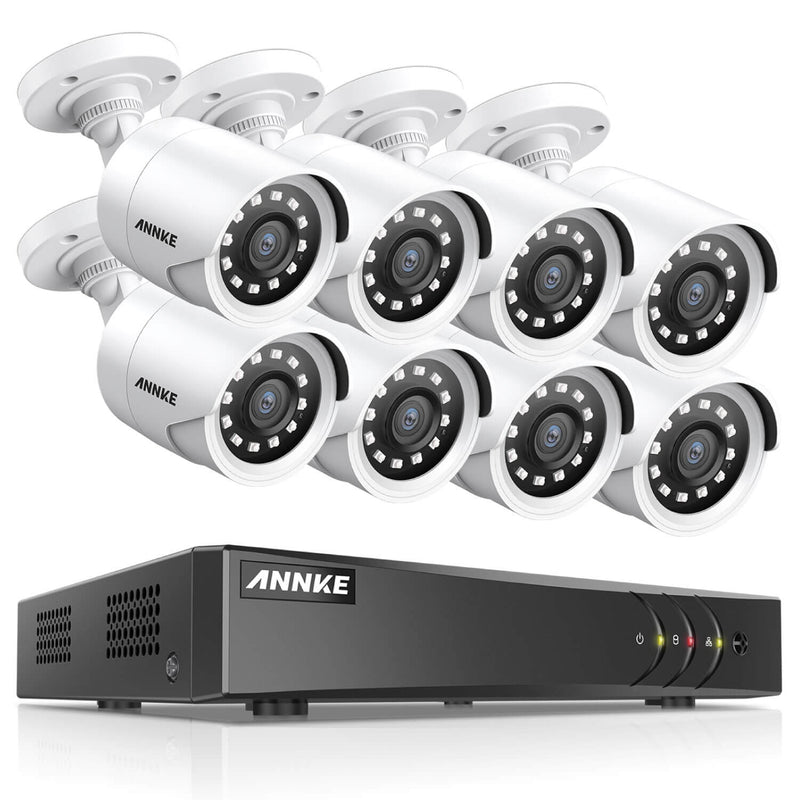 YB200丨1080p Full HD  DVR Security Camera System