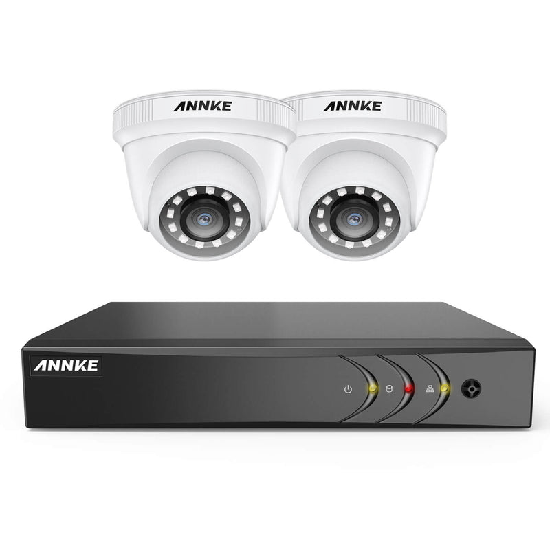 YD200丨1080p Full HD All-in-One DVR Security Camera System