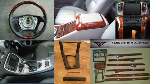 We refurbish wood interiors and steering wheels for most makes and models