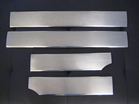 Sill Plates - stainless steel to suit BMW E46 4 Door 1998-2006